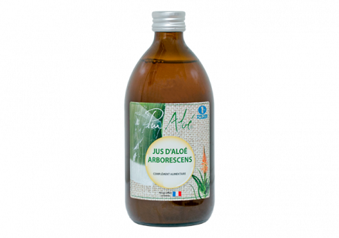 Buy our Aloe arborescens juice